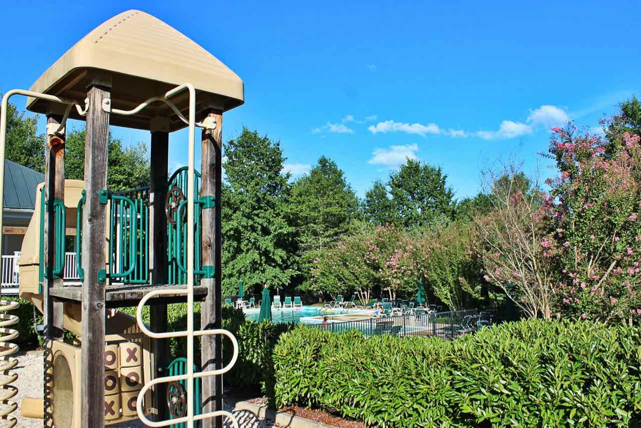 Community pool in Foxcroft subdivision.