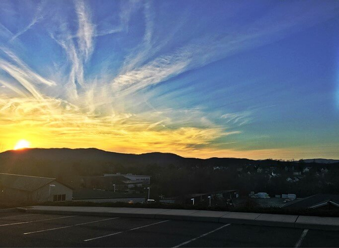 Stunning Panoramic Sunset at Mill Creek Charlottesville