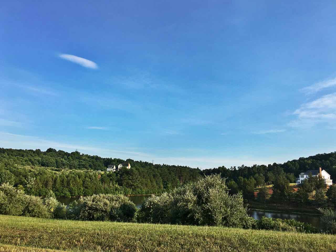 Mountain Valley Farm home nestled in the hillside