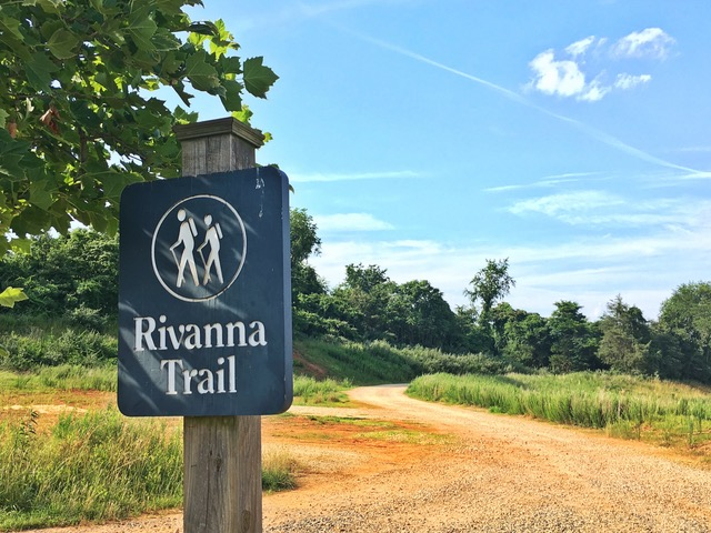 Rivanna Trail Access in Belvedere Charlottesville