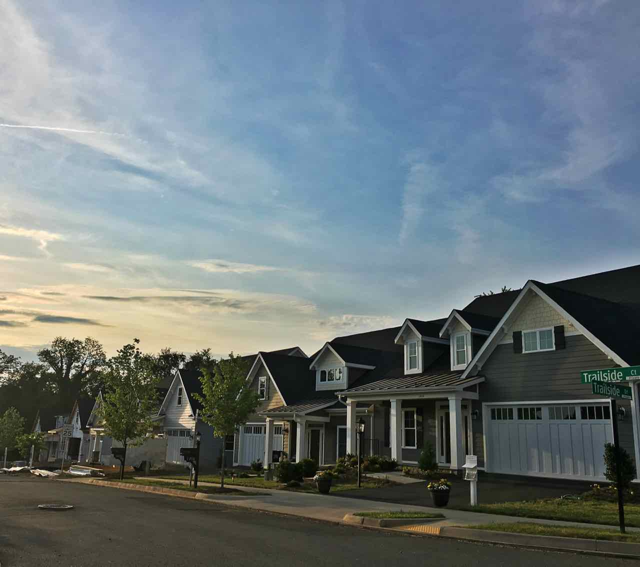 Attached Villas and town houses near the Rivanah in Charlottesville