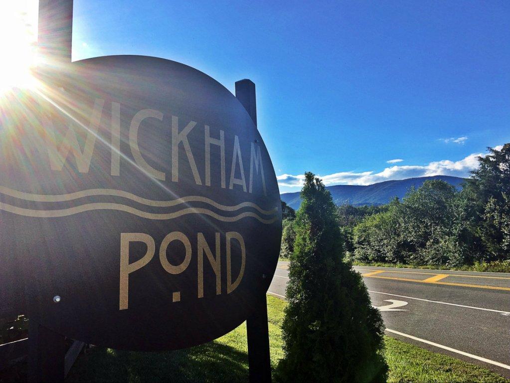 Wickham Pond Sign