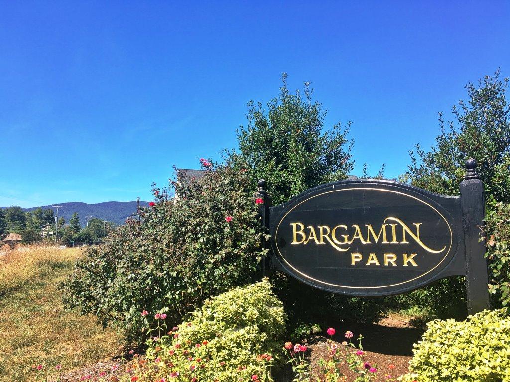 Bargamin Park Subdivision Signage