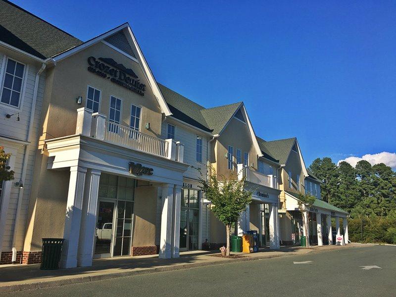 Blue Ridge Shopping Center near Liberty Hall