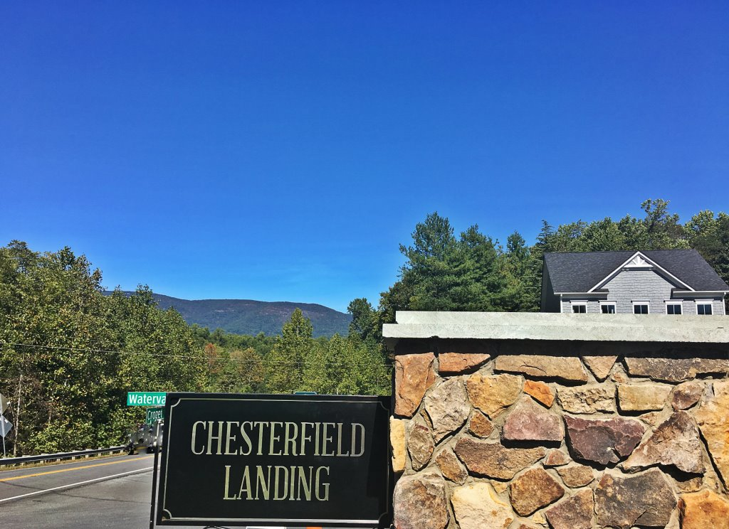 Chesterfield Landing Signage