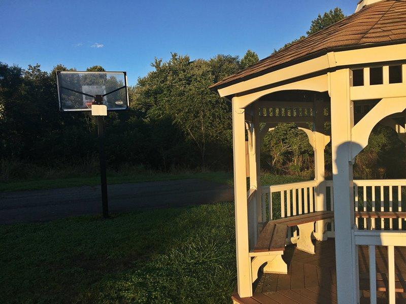 Grayrock Gazebo and Basketball Court