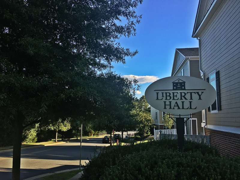 Liberty Hall Crozet signage