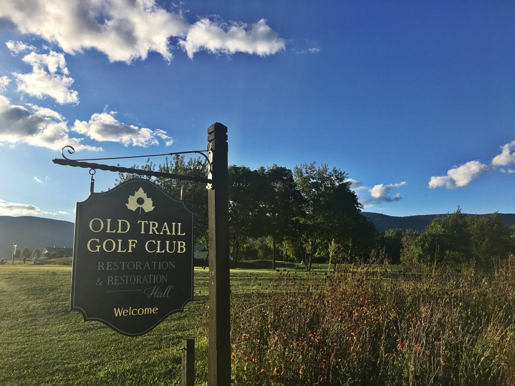 Old Trail Golf Club Signage