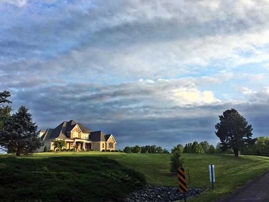 Cloudy Day at Bentivar